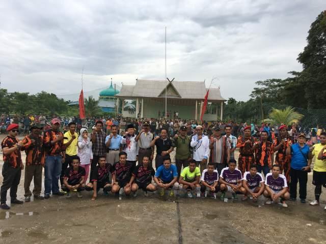 Penutupan Trunamen Futsal PP Gaung Cup I